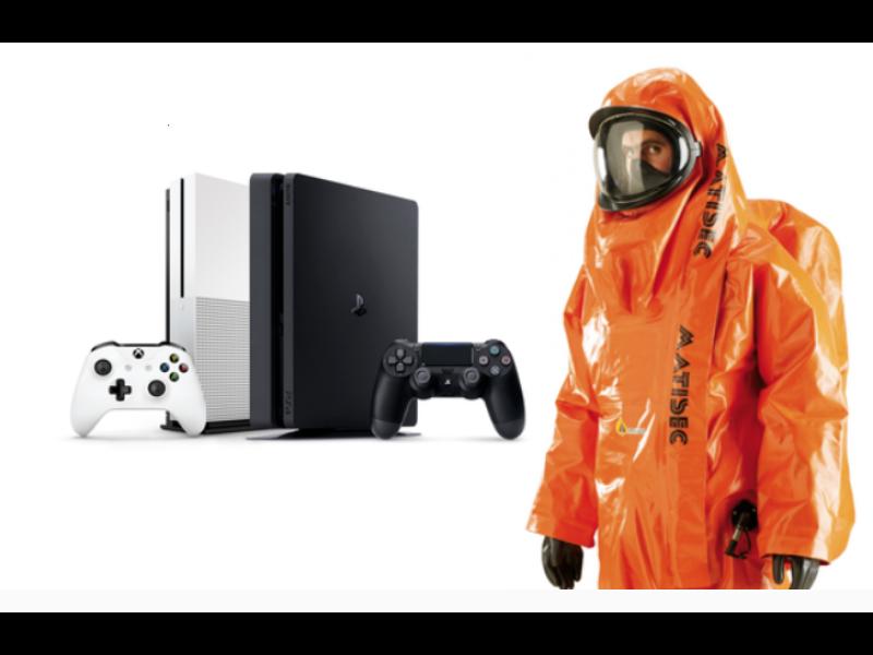 Binnenreiniging Playstation